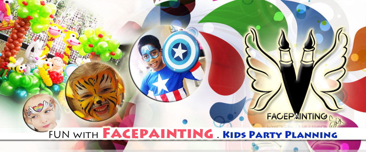 Cheapest Face painting in Singapore | Facepainting | Balloon Sculpting | Magic Show