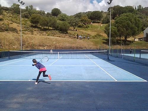 benjamín femenino Pozoblanco en Vistasierra
