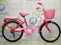 City Bike Wimcycle Strawberry 20 Inci