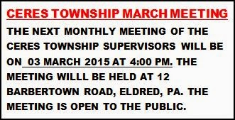 3-3 Ceres Township Meeting