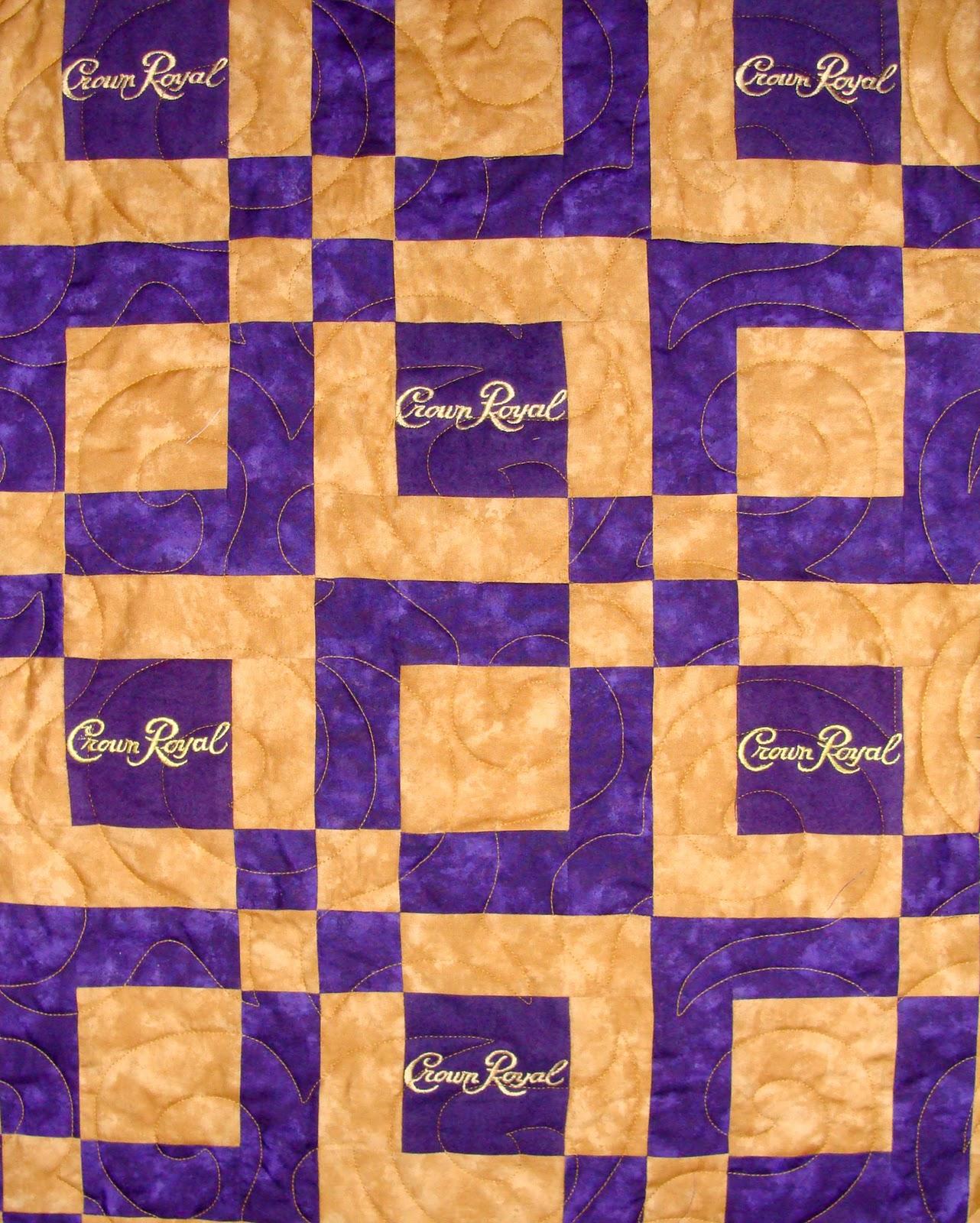 Bag Gloves Images: Crown Royal Bag Quilts