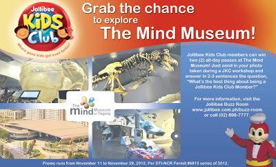 Jollibee - Mind Museum Promo