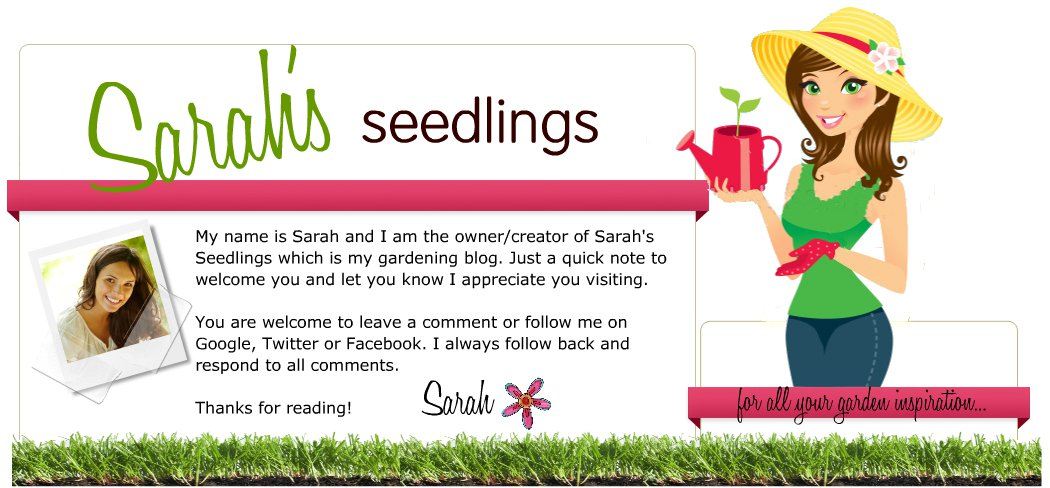 Sarah's Seedlings Gardening Blog