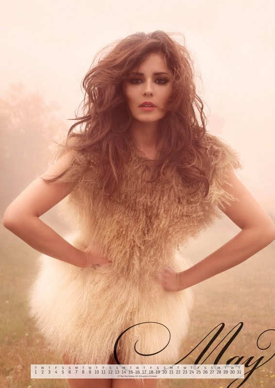 Cheryl Cole – Official 2012 Calendar
