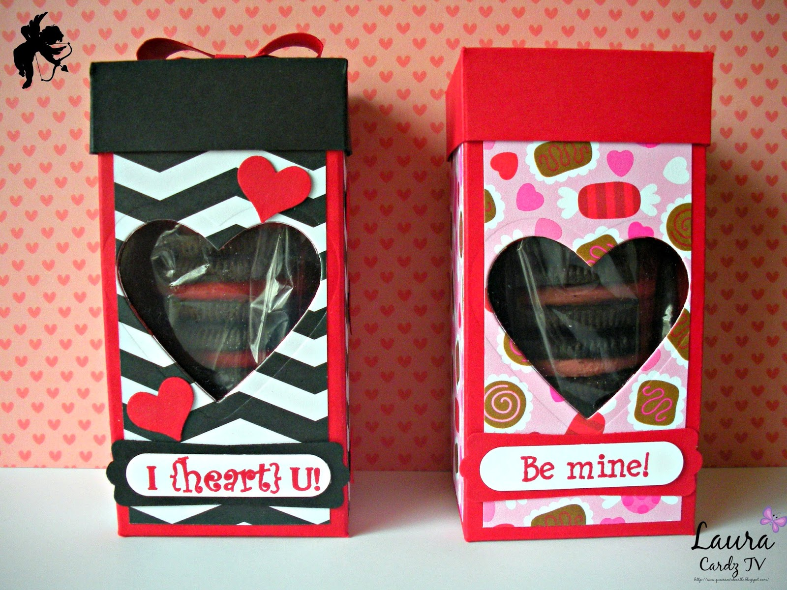 The Queens Card CastleCardz TV Challenge #2 3D Valentine Treat