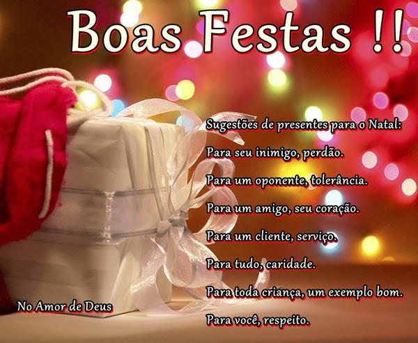 Texto De Boas Festas Clientes E Cartões Mensagens Cultura Mix