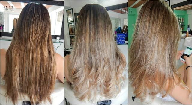 Retoque de Luzes na Touca + Ombré Hair