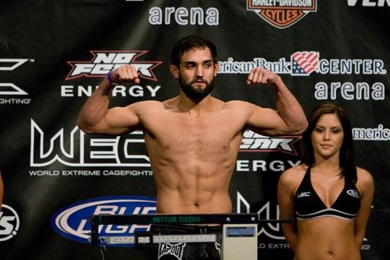 ufc mma welterweight johny hendricks weigh in picture image