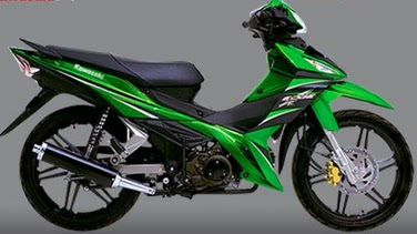 Motor Kawasaki Edge Baru