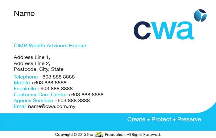 CIMB, Wealth Advisor, CWA