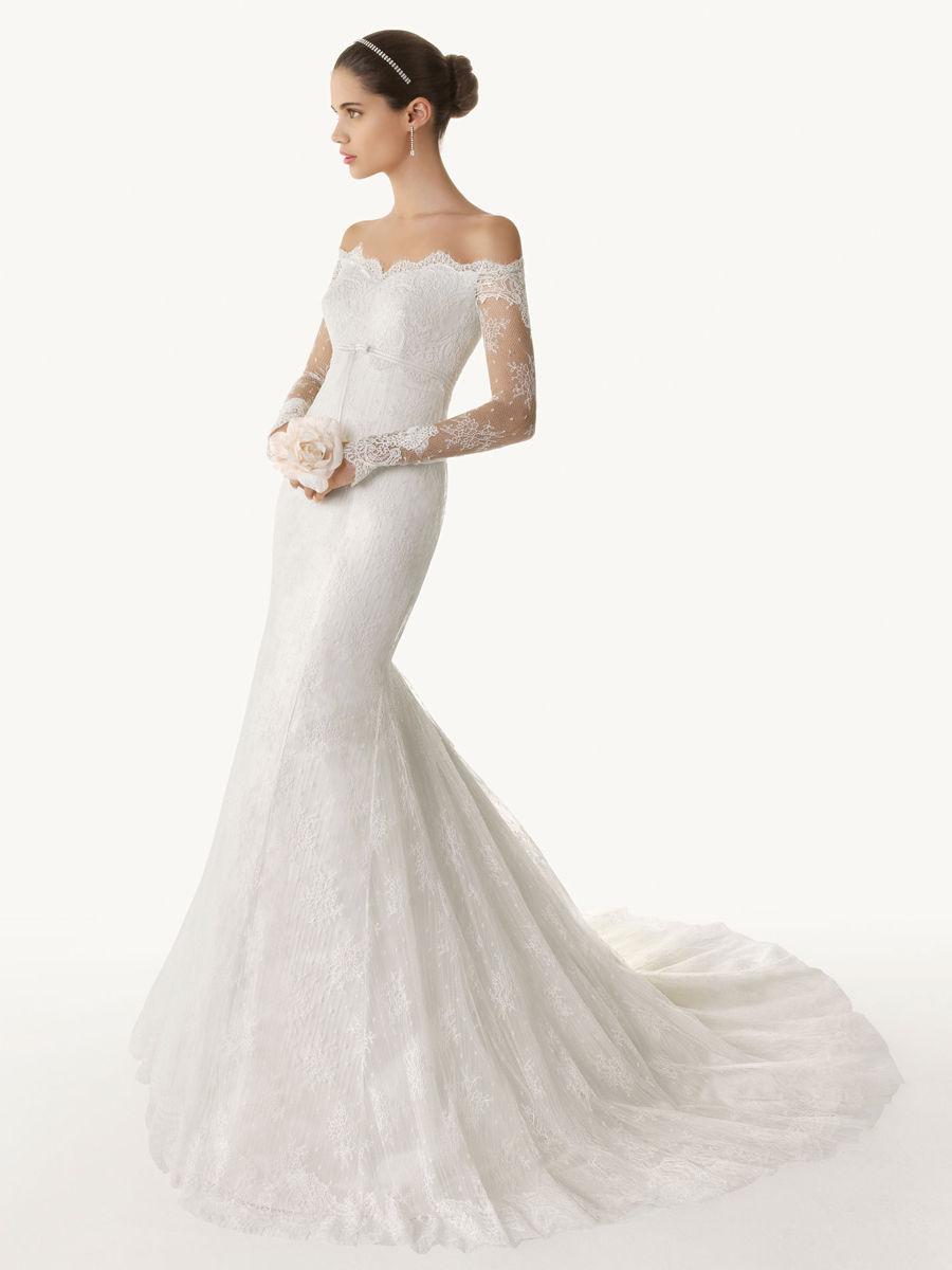 Long Sleeve Wedding Dresses 2015