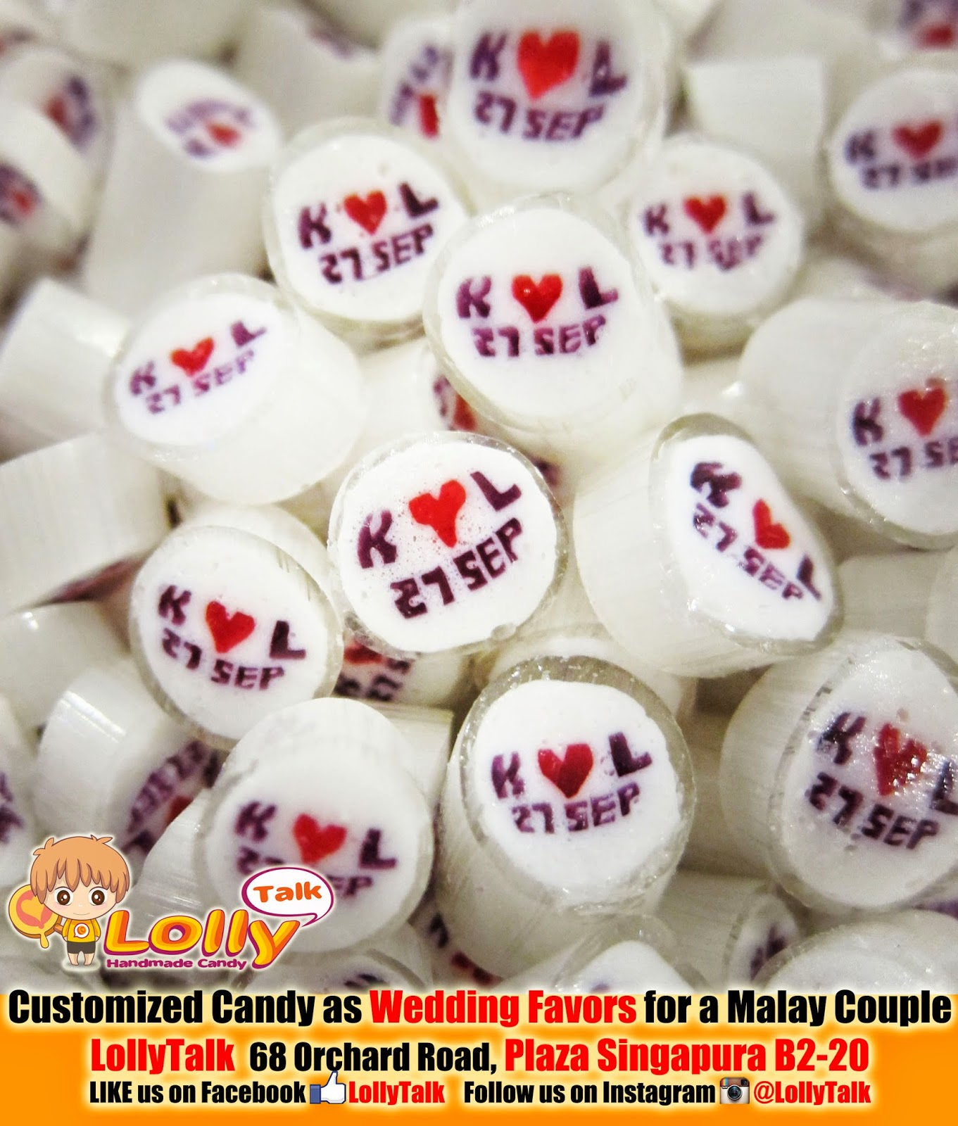 Weddings.Rocks :: Customized Handmade Rock Candy as Wedding Favors