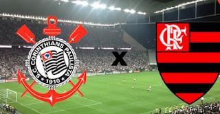 Corinthians sai na frente, mas Flamengo empata com golaço de Réver na Arena Itaquera