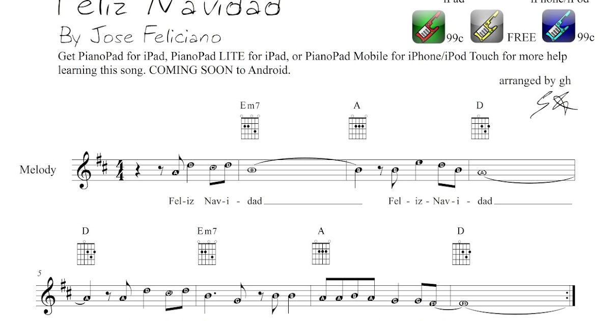 PianoPad Upload Community: This CHRISTMAS song titled \