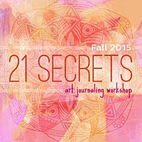I'm a 21 Secrets Art Journaling Instructor!