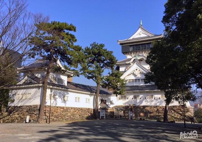 Donjon du château de Kokura, Fukuoka