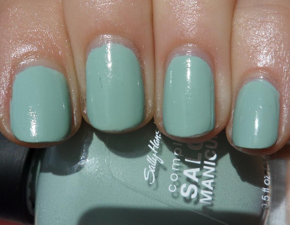 Polish or Perish: Sally Hansen Oxide and Green Tea (Tracy Reece ...