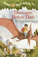 bookcover of DINOSAURS BEFORE DARK (Magic Tree House #1) by Mary Pope Osborne