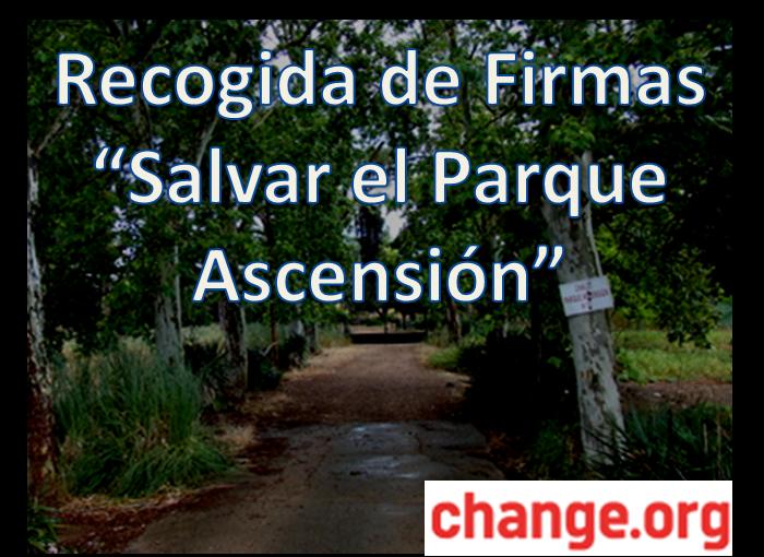 Plataforma Salvar el Parque Ascensión