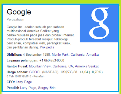 gambar apa itu google