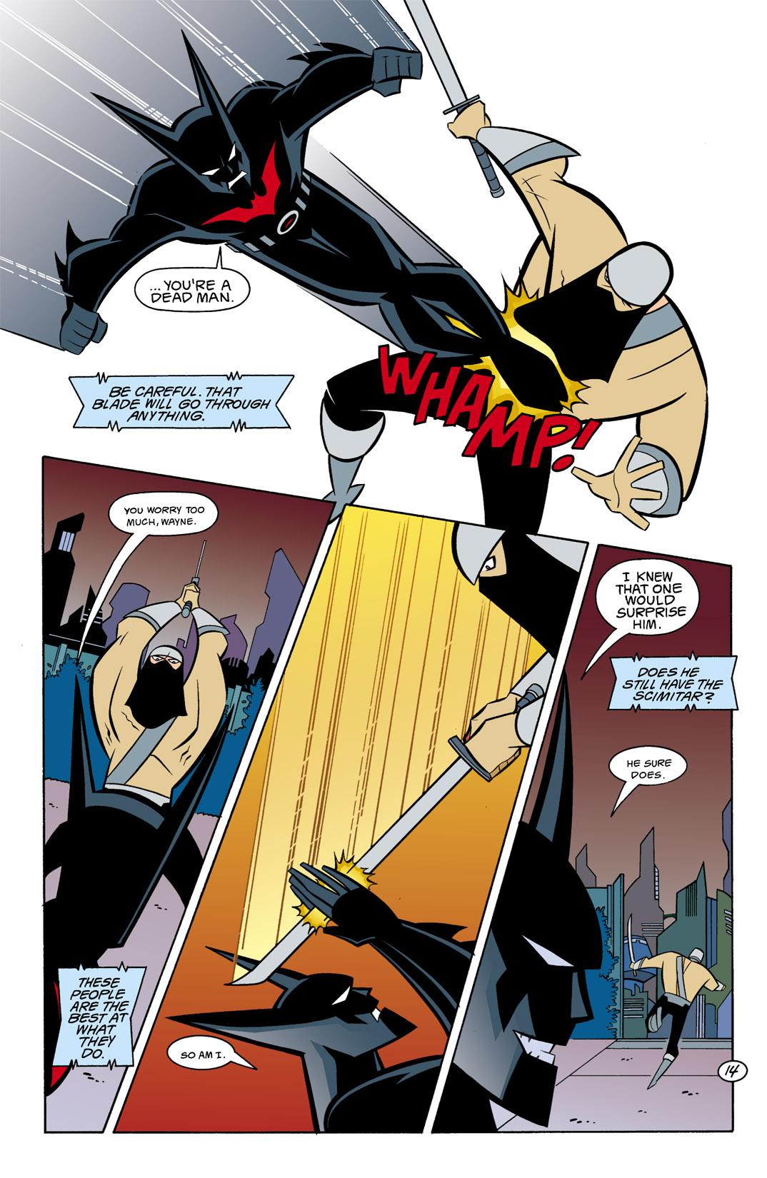 Batman Beyond [II] Issue #9 #9 - English 15