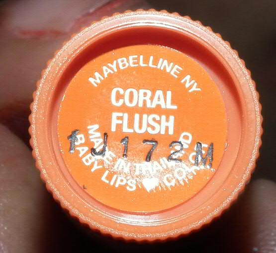 Maybelline Baby Lips Color Lip Balm with SPF 16 - Coral Flush