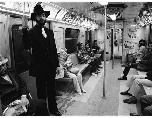 New york subway in the 70 s and 80 s