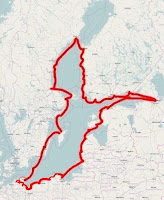 Unsere Route 2014