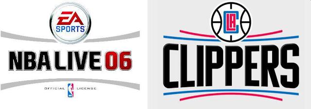 ¿Han plagiado Los Clippers el logo de NBA Live?