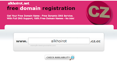 Daftar Buat Domain CZ.CC