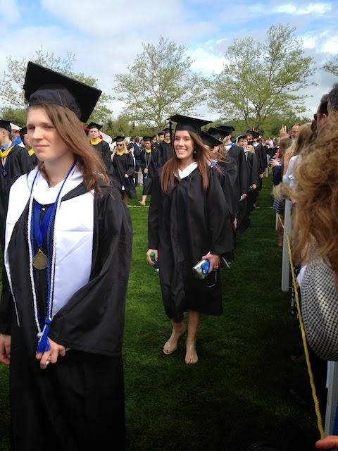 Kelsie's graduation