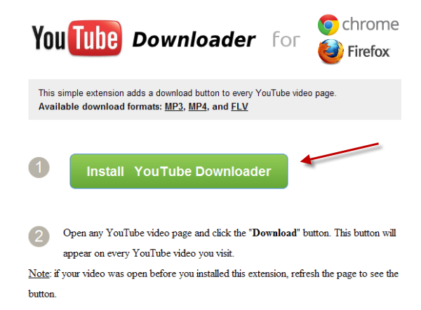 how to download mp3 from youtube on chrome