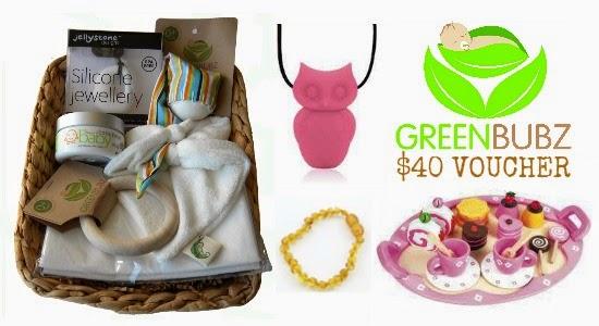 Greenbubz baby shop items