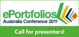 Logo of the ePortfolios Australia Conference 2011