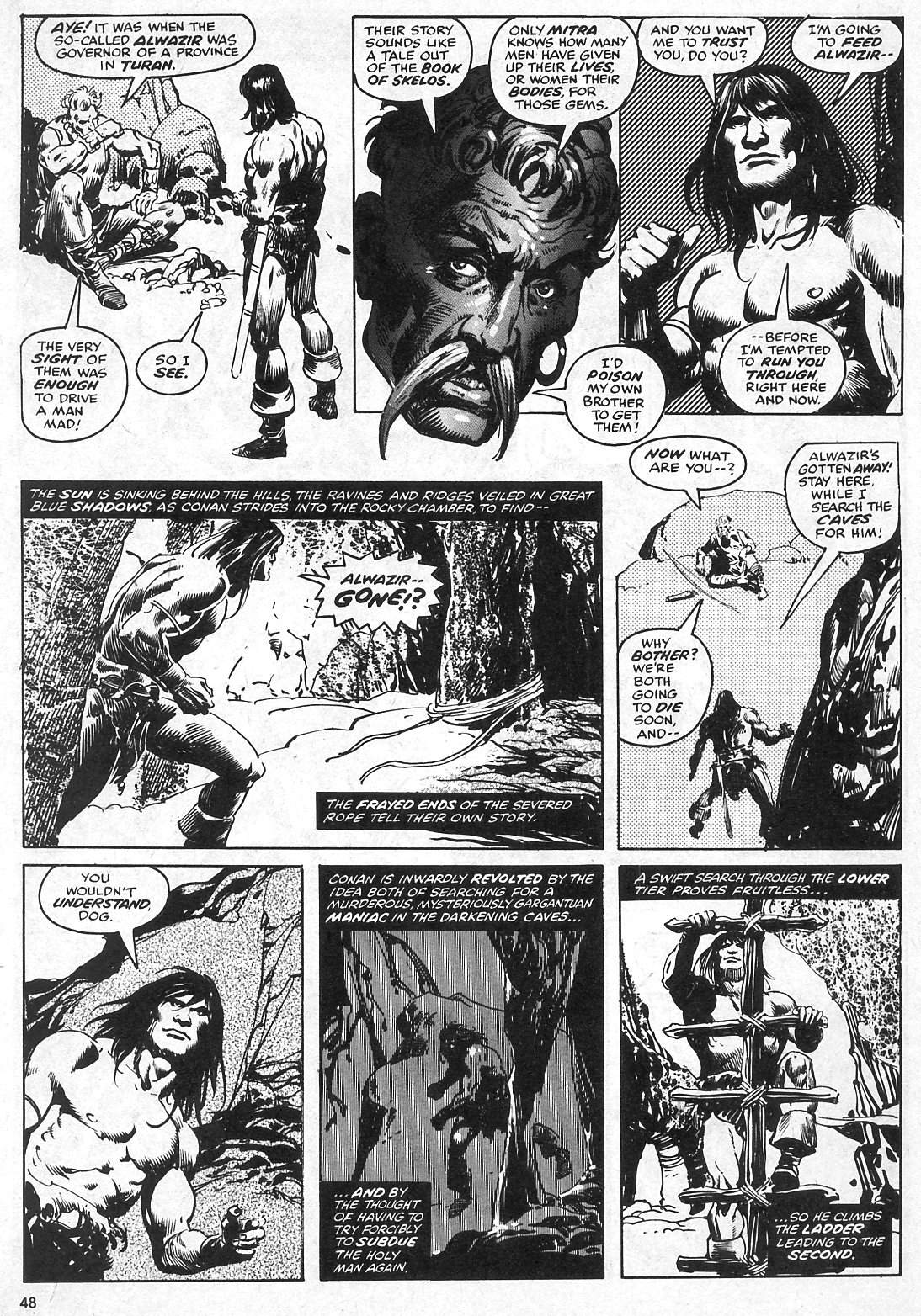 The Savage Sword Of Conan Issue #28 #29 - English 48