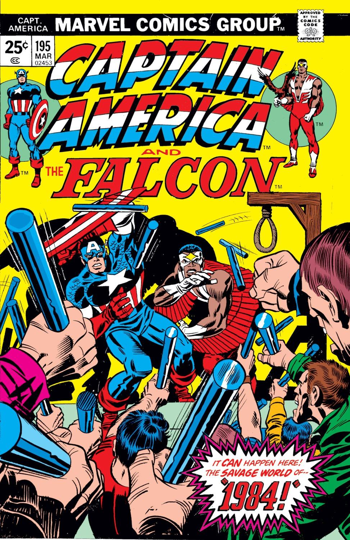 Captain America (1968) Issue #195 #109 - English 1