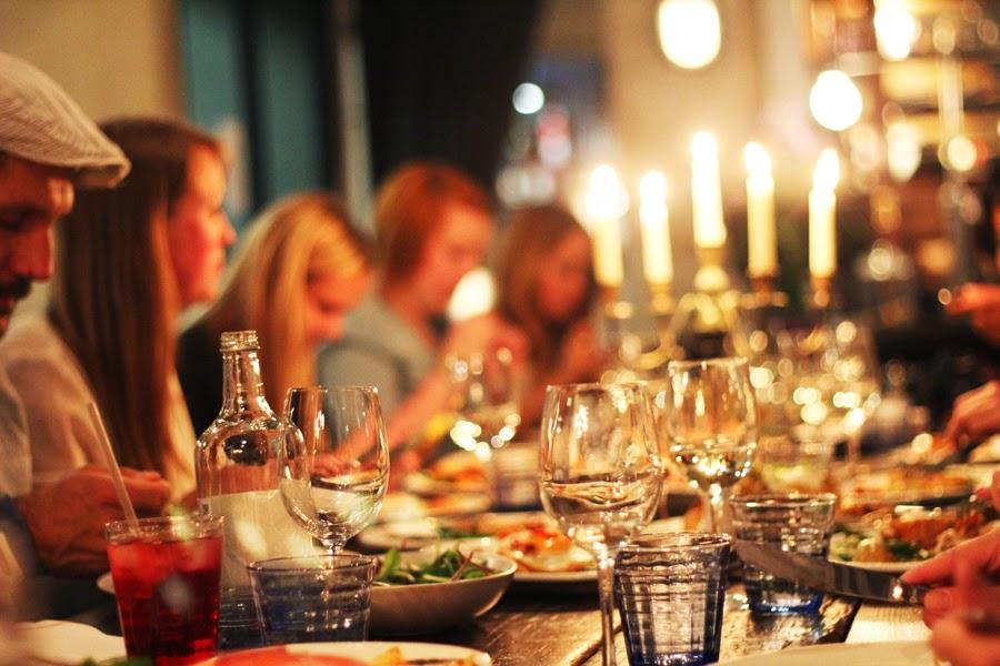 dinner with primark in london