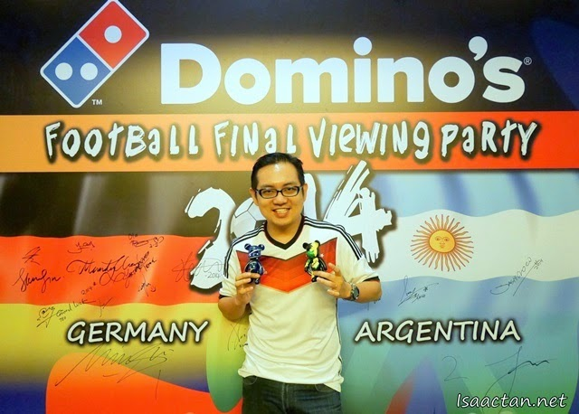 Domino's World Cup 2014 Football Final Viewing Party