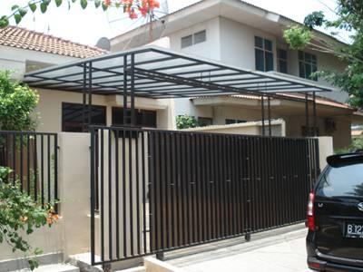 desain pagar rumah minimalis lengkap freewaremini