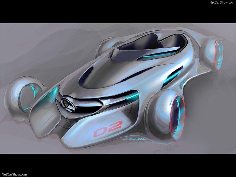 Mercedes benz concept car of the future arrow audio cars for Mercedes benz future car