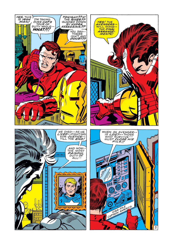 Captain America (1968) Issue #112 #26 - English 4