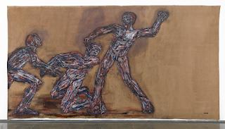 Guerra y pintura en las obras de Leon Golub