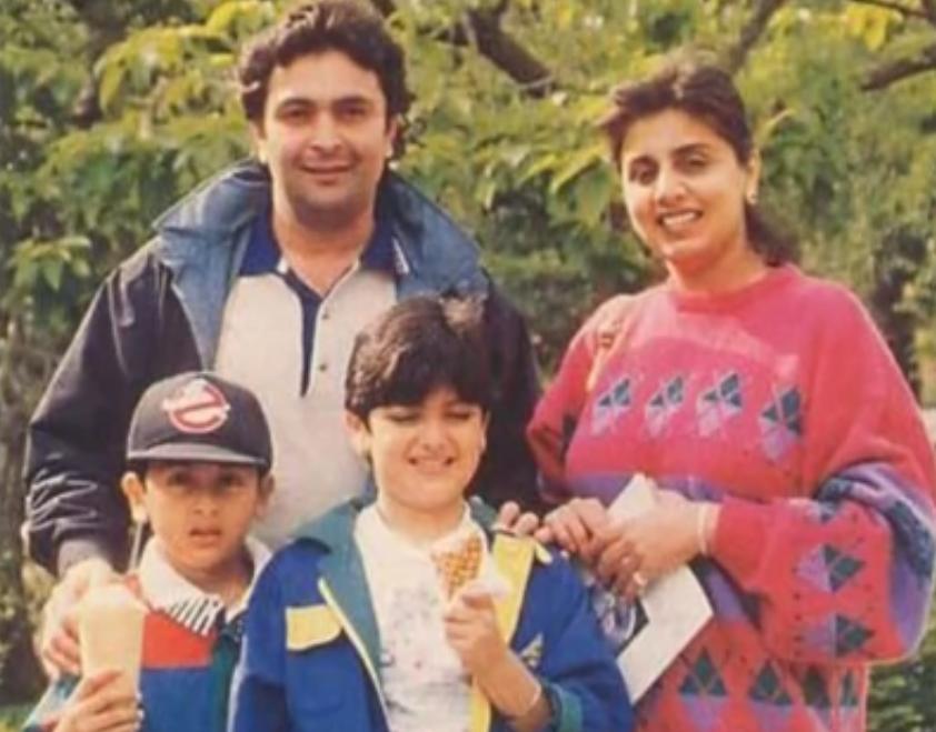 Childhood Photos Of Ranbir Kapoor