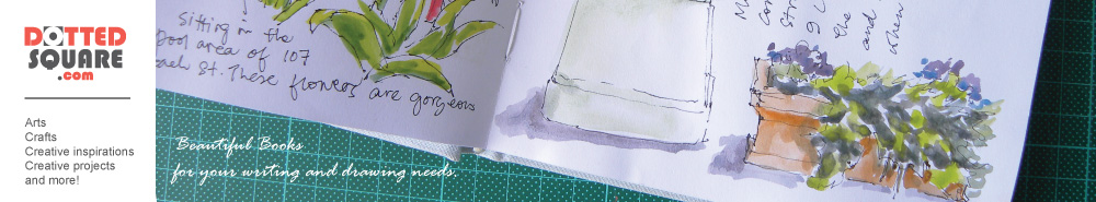 DottedSquare.com Journals and Sketchbooks