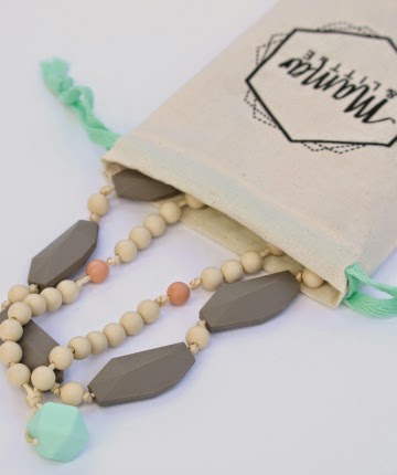 Mama & Little Silicone Teething Jewelry Giveaway