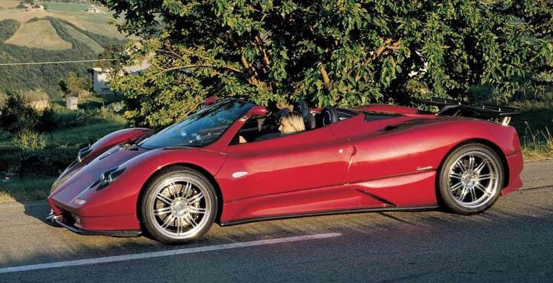 Pagani Zonda C12 S Roadster, 2003