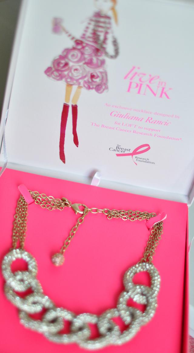 Giuliana Rancic for LOFT necklace