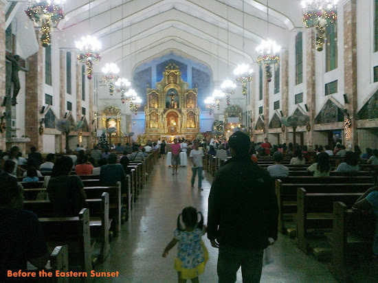Inside San Isidro Labrador Church