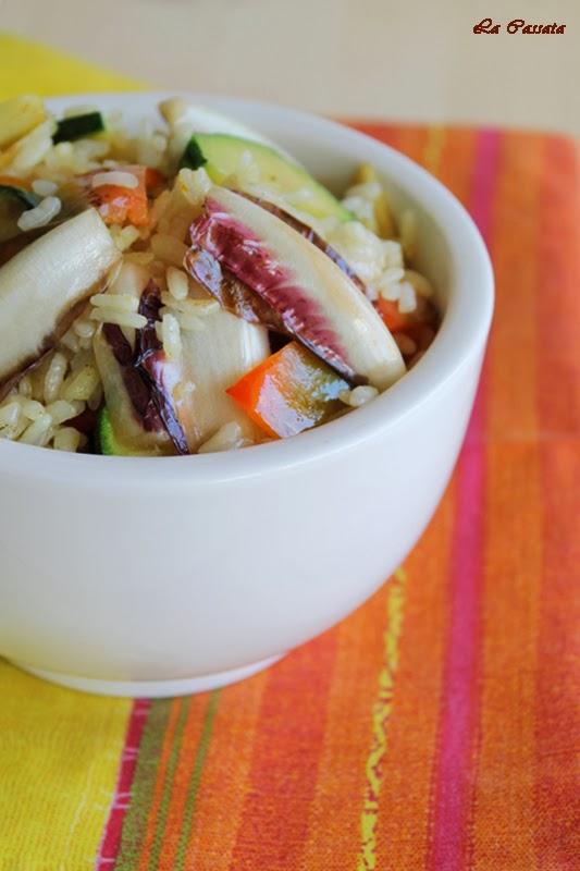 sauté di riso e verdure al curry e 100% gluten free (fri)day