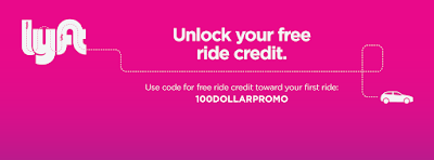 Wow! $100 in Lyft credit.  Use 100DOLLARPROMO promotion code in Lyft app.  Get $100 in free rides with Lyft.